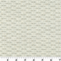 Designer Ivory Salvador Waffle Home Decorating Fabric