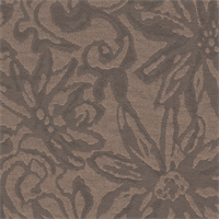 *4 1/4 YD PC--Bronze/Charcoal Grey Floral Jacquard