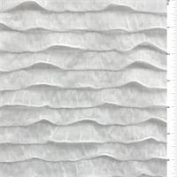White Ruffle Knit