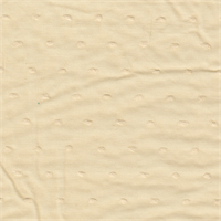 *3 3/8 YD PC--Peachy Beige Dotted Swiss Cotton