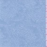 *3 1/2 YD PC--Spa Blue Floral Bouquet Jacquard Knit