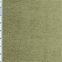 *1 YD PC--Swamp Green Komodo Animal Skin Texture Chenille Velvet Upholstery Fabric