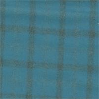 *1 3/8 YD PC--Dark Teal Plaid Flannel