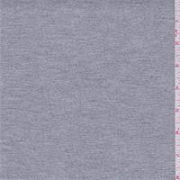 Heather Grey Double Knit