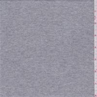 Heather Grey Baby Rib Knit