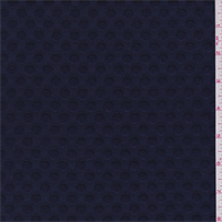 *2 7/8 YD PC--Deep Blue Dot Jacquard Suiting