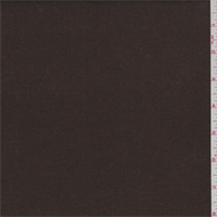*3 1/2 YD PC--Chocolate Brown Linen