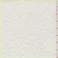 Ecru Floral Lace