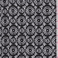 Black Circular Lace