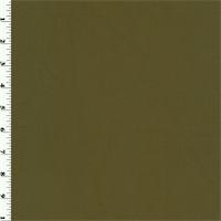 Deep Olive Wool Gabardine Suiting