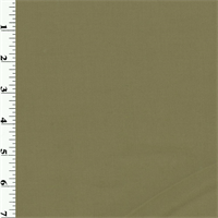Olive Wool Gabardine Suiting