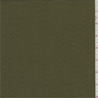 Olive Brown Sueded Charmeuse