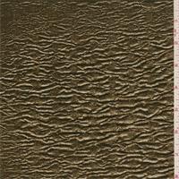 Metallic Gold Wave Knit