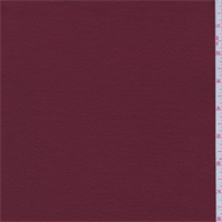 *1 YD PC--Ruby Red Fleece Coating
