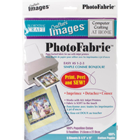 Crafter's Images Photofabric 8.5X11 5/Pkg-100% Cotton Poplin