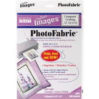 Crafter's Images Photofabric 8.5X11 5/Pkg-100% Silk Habotai