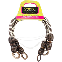 Wood & Rope Handbag Handles 6 Arched 2/Pkg-