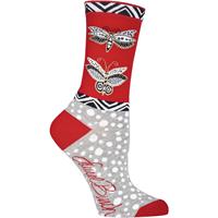 Laurel Burch Socks-Butterfly