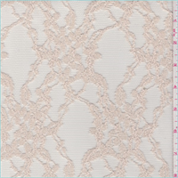 Nude Floral Lattice Tulle Lace