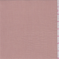 Clay Pink Rayon Crinkled Gauze