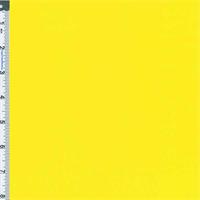 *2 3/4 YD PC--Bright Yellow Monterey Poplin Shirting