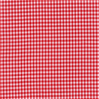 *1 3/4 YD PC--Red 1/8 Inch Gingham