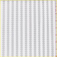Optic White Stripe Mesh
