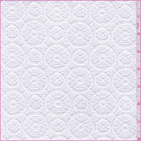 White Circular Crochet Lace