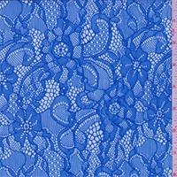 Ocean Blue Floral Lace