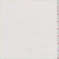 Winter White Cotton Jersey Knit