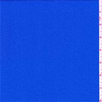 Bright Marine Blue Crepe