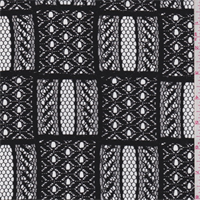 Black Check Lace