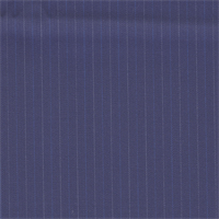 *7/8 YD PC--Navy Pinstripe Wool Suiting