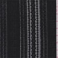*3 YD PC--Black Ruffle Stretch Lace