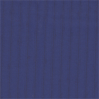 *1 YD PC--Medium Blue Pinstripe Worsted Wool Suiting