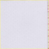 White Diamond Dobbie Polyester Lining