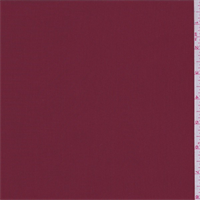 Garnet Red Polyester Faille