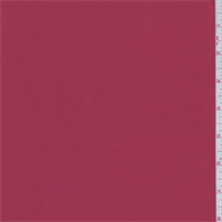 Brick Red Polyester Charmeuse