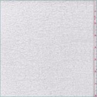 *2 YD PC--White Cotton Sherpa Fleece