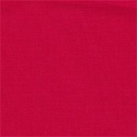 *1 7/8 YD PC--Bright Red Linen