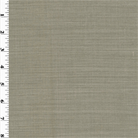 *5 YD PC--Gray Pin-Stripe Wool Crepe Suiting