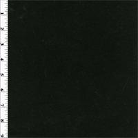 *5/8 YD PC--Black Wool Rib Sweater Knit