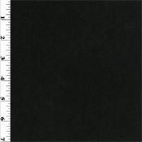 *5/8 YD PC--Black Wool Double Knit
