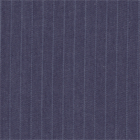 *2 1/2 YD PC--Blue/Ivory Striped Denim