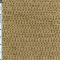 ** 5 yd pc -- Beige/Taupe Textured Chenille Upholstery Fabric