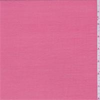 Coral Pink Slubbed Chiffon