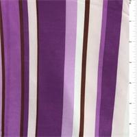 Orchid Purple/Pink Stripe Jersey Knit