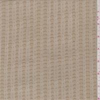 Creamy Caramel Dot Stripe Stretch Lace