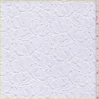 Off White Floral Petal Crochet Lace