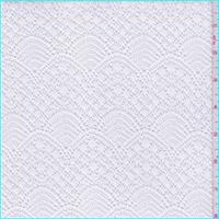 White Wave Fine Crochet Lace